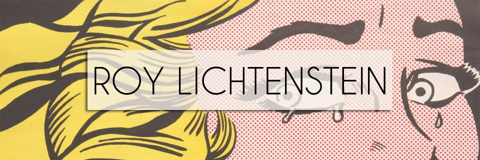 Roy Lichtenstein Art for Sale