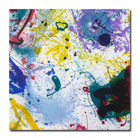 Sam Francis Lithograph for Sale