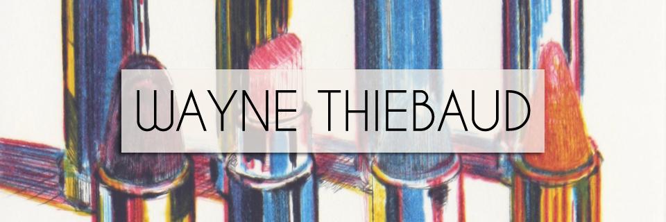 Wayne Thiebaud Art for Sale
