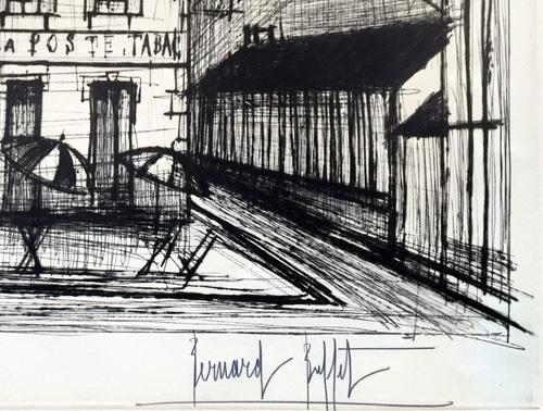 Bernard Buffet Hotel de la Poste 1965