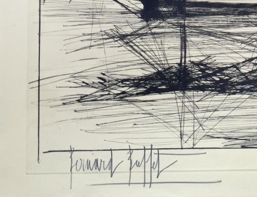 Bernard Buffet L'embouchure de L'odet 1962