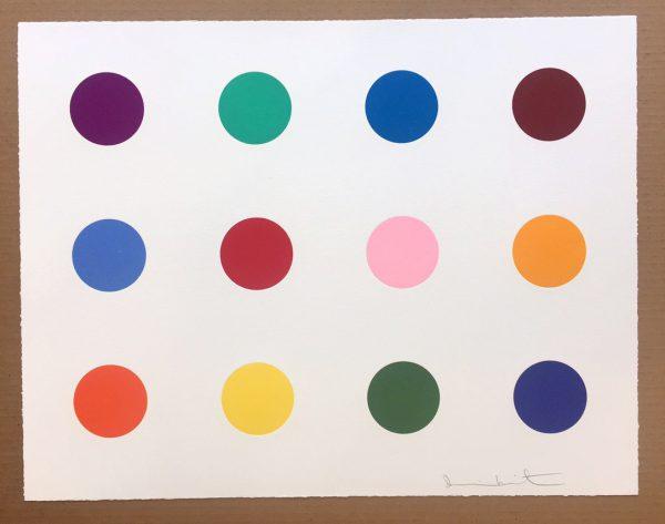 Damien Hirst Dots Isovanillin