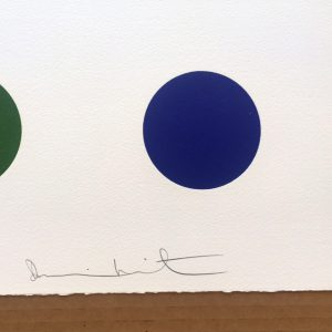 Damien Hirst Signed Dots