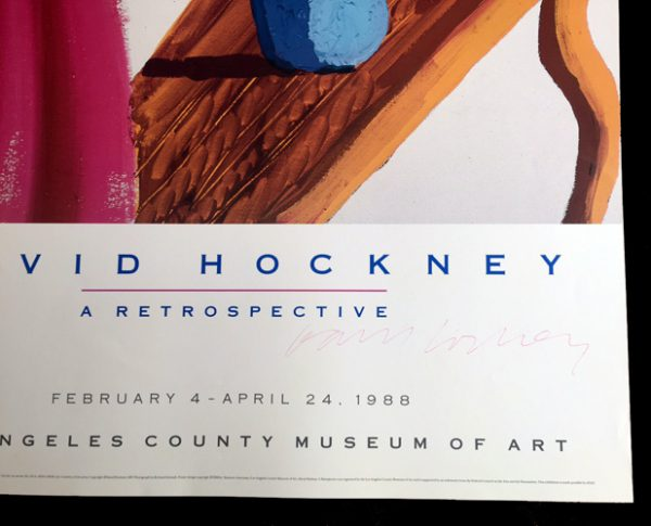 David Hockney Retrospective - Los Angeles County Museum of Art