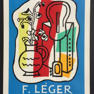 Fernand Leger - Galerie Louis Carre Poster