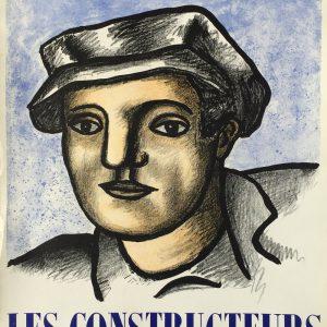 Fernand Leger Les Constructeurs Poster