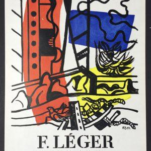 Fernand Leger Poster – Dessins et Gouaches