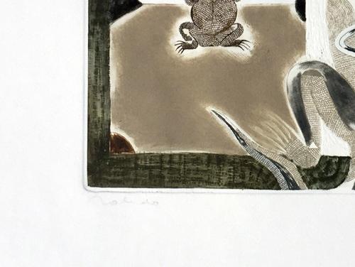 francisco-toledo-rabbit-iguna-frog-signed
