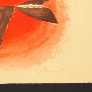 Georges Braque Au Couchant Oiseau XVI