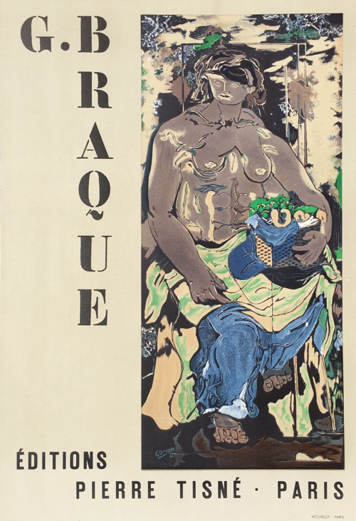 Georges Braque Editions Pierre Tisne