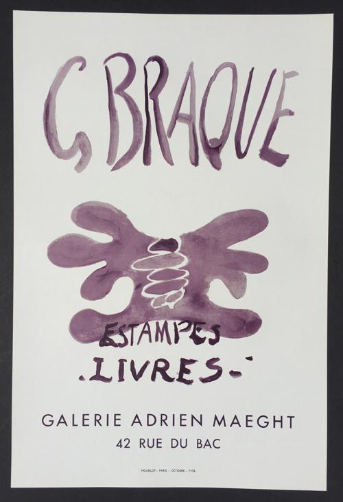 Georges Braque – Estampes Livres Poster
