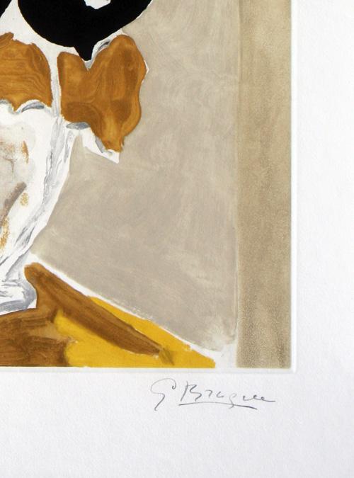 Georges Braque Les Amaryllis Etching