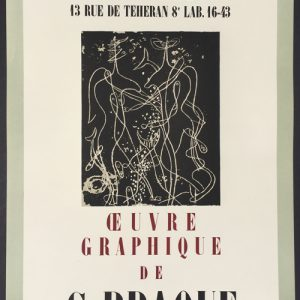 Georges Braque Oeuvre Graphique – Galerie Maeght
