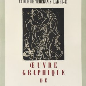 Georges Braque Oeuvre Graphique - Galerie Maeght