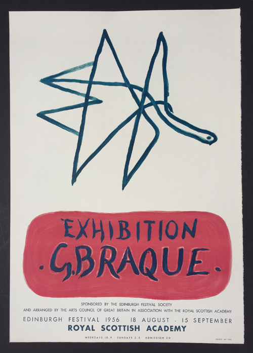 Georges Braque Poster Royal Scottish Academy