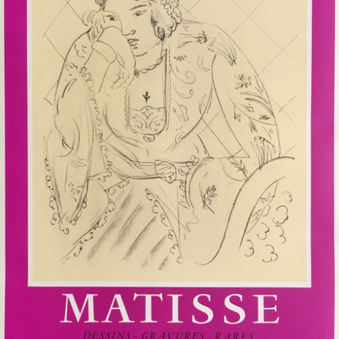 Henri Matisse Poster Galerie 65 - Cannes