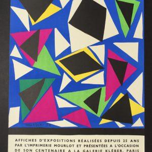 Henri Matisse Exposition Affiches – Galerie Kleber