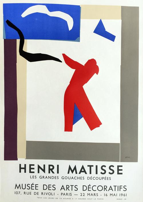 Henri Matisse Grandes Gouaches Decoupees