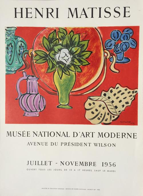 Henri Matisse Poster Musee National Art Moderne