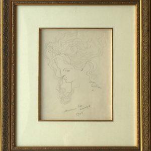Jean Cocteau Drawings Woman