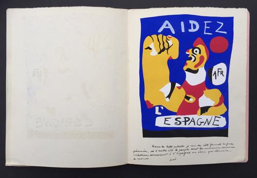 Joan Miro Aidez Espagne Dupin 17
