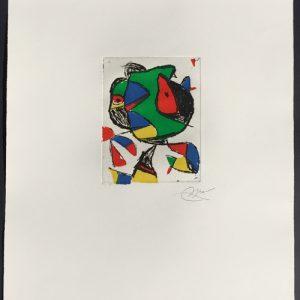 Joan Miro Barb II Dupin 1222