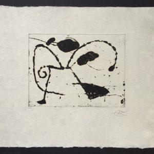 Joan Miro Ocells de Montroig I