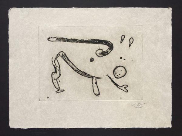 Joan Miro Ocells de Montroig IV