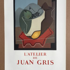 Juan Gris Poster Atelier de Juan Gris