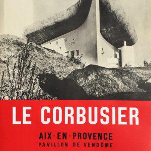 Le Corbusier Aix en Provence Poster