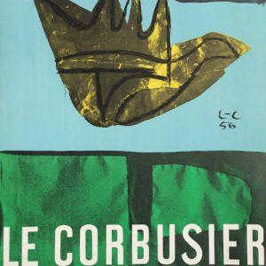 Le Corbusier Poster Festival de Lyon Charbonnieres