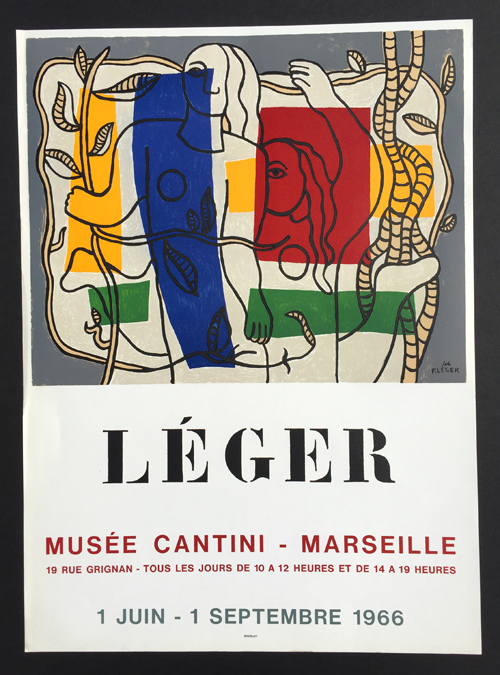 Leger- Musee Cantini Poster