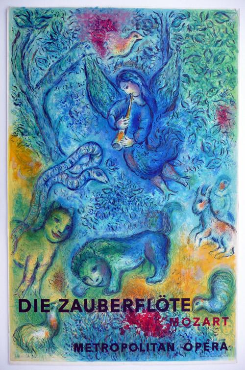 Marc Chagall La Flute Enchantee