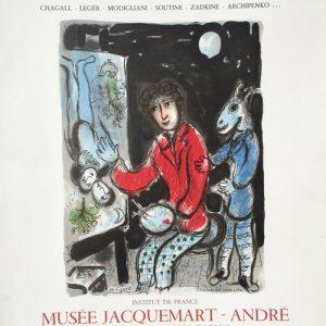 Marc Chagall Poster La Ruche et Montparnasse