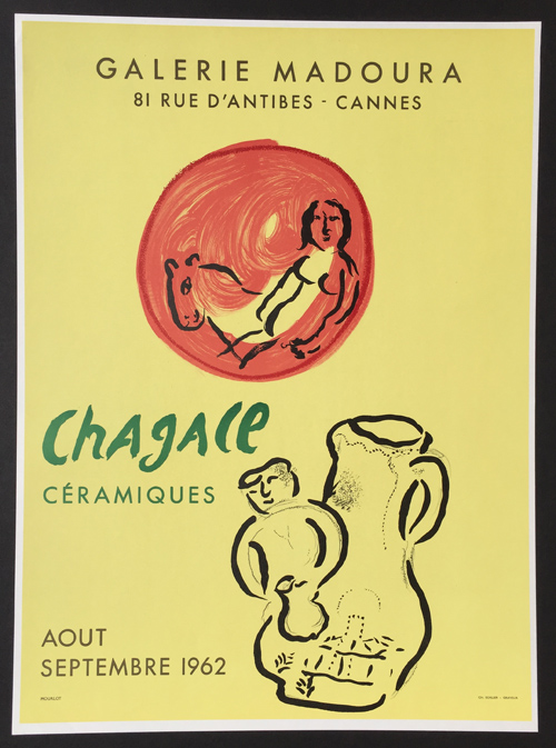 Madoura - Chagall Ceramics