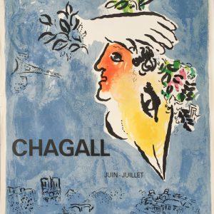 Marc Chagall Poster Le Ciel Bleu