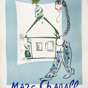 Marc Chagall Maison de mon Village