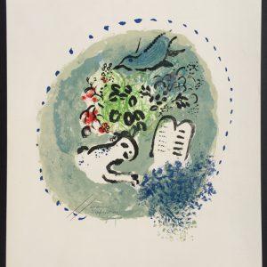 Marc Chagall Vitraux de Jerusalem