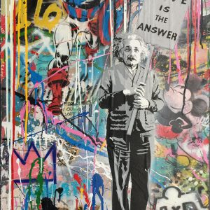 Mr-Brainwash-Einstein-Love-is-the-Answer