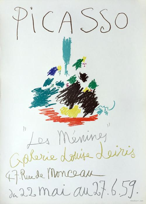 Pablo Picasso Les Menines Poster