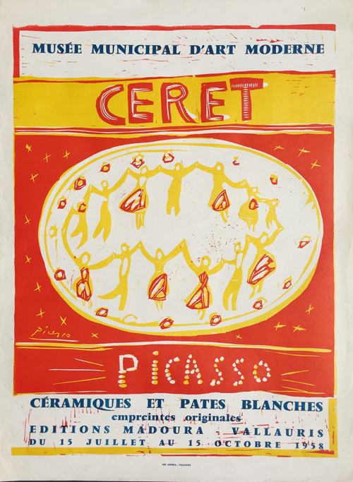 Pablo Picasso Musee Municipal art Moderne Ceret B. 1283