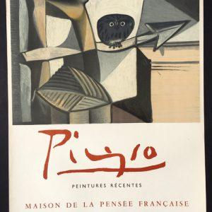Pablo Picasso Peintures Recentes Poster