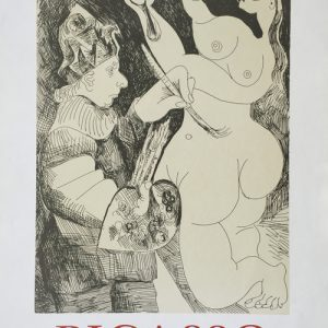Picasso Poster 156 Gravures Recentes