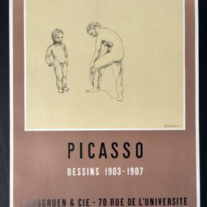 Pablo Picasso Poster Dessins 1903-1907