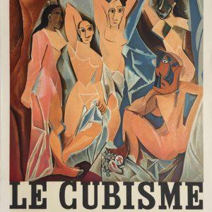 Pablo Picasso Poster Le Cubisme