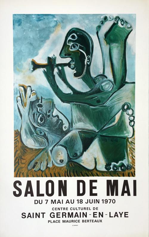 Pablo Picasso Salon de Mai - Saint Germain en Laye