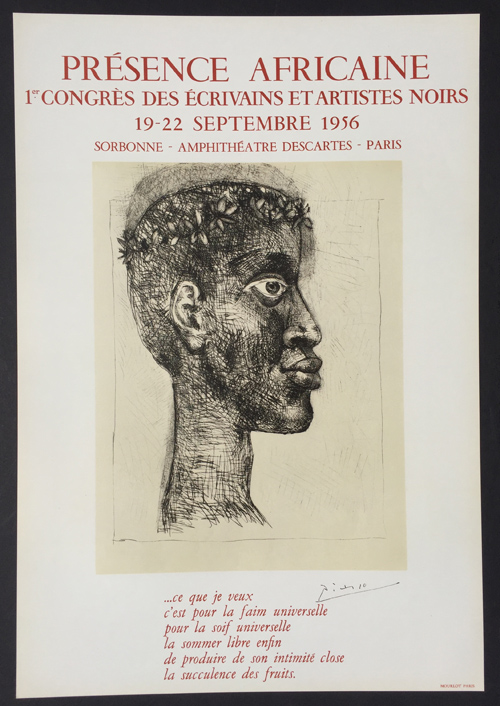 Pablo Picasso Presence Africaine Poster