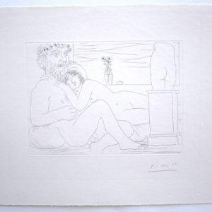 Pablo Picasso Vollard Repos du Sculpteur