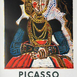 Picasso 85 Gravures Berggruen Poster