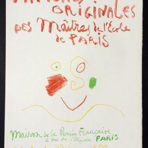 Picasso Affiches Originales des Maitres de l'Ecole de Paris